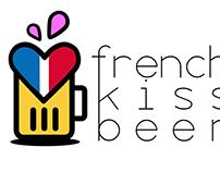 Identité visuelle 'French Kiss Beer'