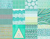 Pantone Colors - Patterns by Color