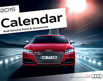 Audi Genuine Parts & Accessories Calendar 2015