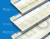IA, UI & UX of document management app