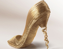 3D - Shoes Hair