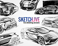 SKETCHLIVE - Car Sketching Live Sessions
