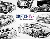 SKETCHLIVE - Car Sketching Live Sessions