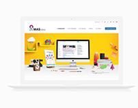 Mas Idea Website Concept