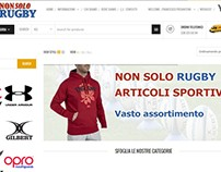 NonSoloRugby.Com | e-Commerce