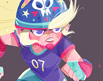 Roller derby girl!