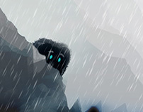 The Shy Rain Monster | Contest Winner!