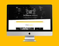 Music band's website restyling