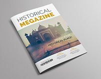 Historical Magazine Template