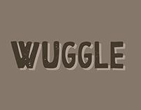 Wuggle font