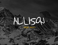Allison - Free Handwritten Typeface