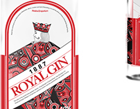 Royal Gin Packaging Design