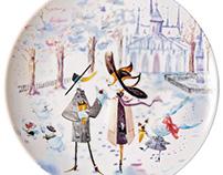 Porcelaines Raynaud / Les petits Parisiens