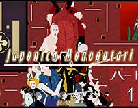 Japonica Monogatari. Posters