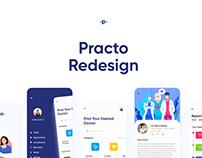 Medical App Redesign - Practo