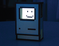 Happy Computer Icon Stand for iPhone