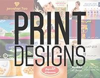 Print Designs (Packaging and Billboards)
