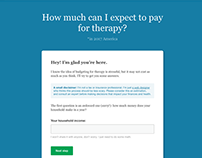 Therapy Calculator