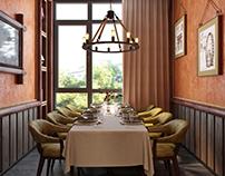 Private room in restaurant