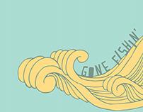 'Gone Fishin' Food Truck Concept