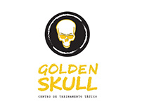 logotipo Golden Skull
