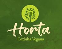Logotipo - ID Visual - Horta Cozinha Vegana