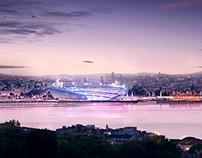 Bosphorus Stadium, Istanbul.