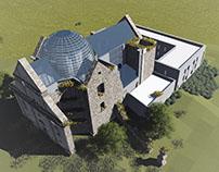 Koncepcja adaptacji ruin klasztoru na dom rekolekcyjny