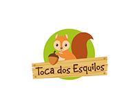 Logo Toca dos Esquilos