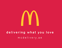 McDonalds / Delivery What You Love