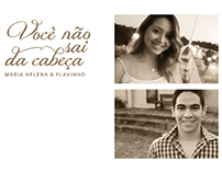 Maria Helena & Flavinho (2013) - Vídeo, foto e design
