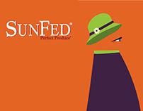 SunFed Eggplant Label