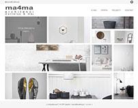 Interior design - new website project