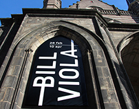 Exhibition campaign Bill Viola