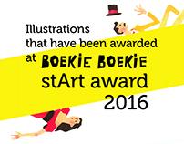 """illustrations for the """"stArt award"""" 2016"""