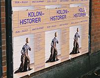 Kolonihistorier – Exhibition poster