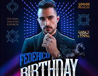 Free Birthday Facebook Templates PSD