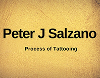 Peter J Salzano - Process of Tattooing