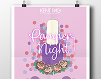 Pamper Night event poster