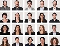 150 portraits KR Media  (GroupM / Groupe WPP)