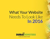 What Your Website Needs to Look Like in 2016