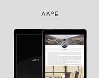 Akoe UI Concept