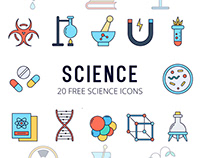 Science Vector Free Icon Set