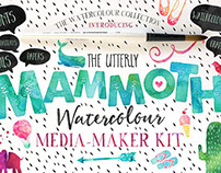 The Mammoth! Watercolour Kit