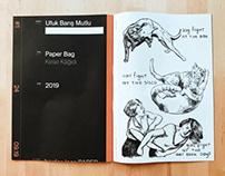 Borderless Artist Print Journal