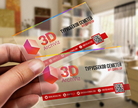 Personal business card for 3D ArchViz