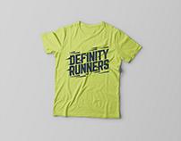 Definity Runners Logotype