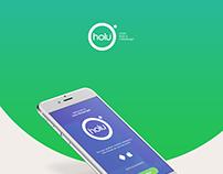 Holu Messenger - UX/UI