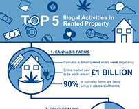 CIA Landlords - Illegal Activities infographic