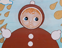 Roly Poly Doll